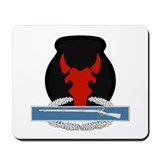 34th Infantry CIB Mousepad