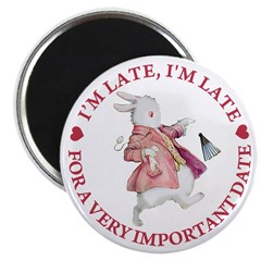 I'm Late, I'm Late! Magnet