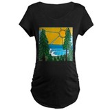 Pine Trees and Sun T-Shirt