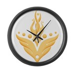 Icarus Collection Large Wall Clock
