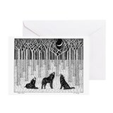 Forest Wolves Greeting Cards (Pk of 20)