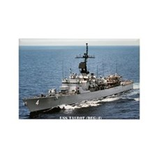 USS TALBOT Rectangle Magnet