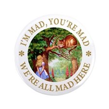 "I'm Mad, You're Mad 3.5"" Button (100 pack)"