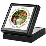I'm Mad, You're Mad Keepsake Box
