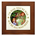 I'm Mad, You're Mad Framed Tile