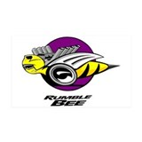 Rumble Bee design 38.5 x 24.5 Wall Peel