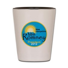 Romney New Hampshire Shot Glass