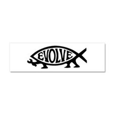 Evolve Fish Car Magnet 10 x 3