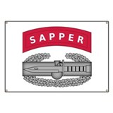 Combat Action Badge w Sapper Tab Banner