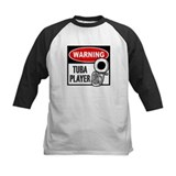 Warning Tuba Player Tee