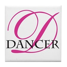 Dancer Tile Coaster