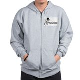 """Groom"" Zipped Hoody"