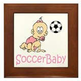SoccerBaby Madison Framed Tile