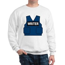 Castle Writer Vest Sweatshirt
