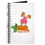 CUSTOMIZABLE: EASTER BUNNY Journal