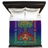 Celtic Tree of Life King Duvet Cover