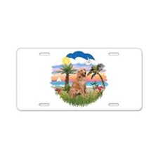 Palms-Golden#1 Aluminum License Plate