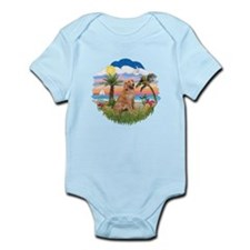 Palms-Golden#1 Infant Bodysuit