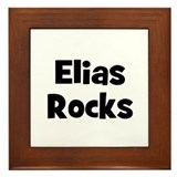 Elias Rocks Framed Tile