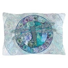 Cool Celtic Dragonfly Pillow Case