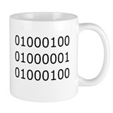 Dad in Binary Coffee Mug