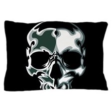 Chrome Skull Pillow Case