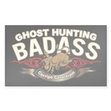 Ghost Hunting Badass Decal