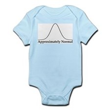 Approximately Normal Statistics Infant Bodysuit