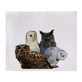 Owls Throw Blanket