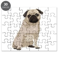 Cartoon Pug Puzzle