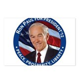 Support Ron Paul Postcards (Package of 8)