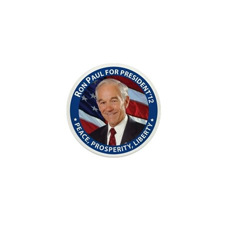Support Ron Paul Mini Button (100 pack)