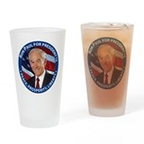 Support Ron Paul Drinking Glass