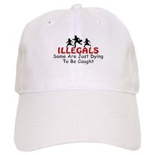 Immigration Illegals Dying Baseball Cap
