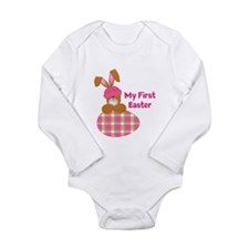 Customizable: My First Easter Long Sleeve Infant B