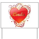 Linda Valentines Yard Sign