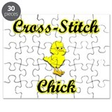 Cross-Stitch Chick Puzzle