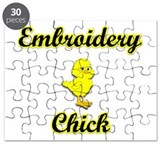 Embroidery Chick Puzzle