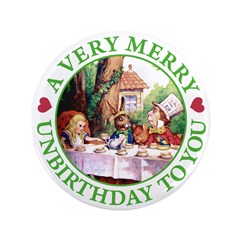 "A Very Merry Unbirthday To You 3.5"" Button (100 pa"