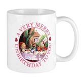 A Very Merry Unbirthday To You Small Mug