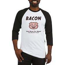 Bacon - Vegan Baseball Jersey