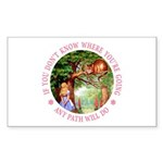 Any Path Will Do Sticker (Rectangle 10 pk)