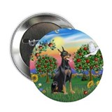 "BrightCountry-Doberman#1 2.25"" Button (10 pack)"