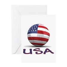 Team USA Greeting Card