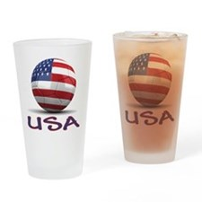 Team USA Drinking Glass