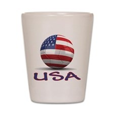 Team USA Shot Glass