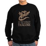 I'd Rathereth Be Slaying Drag Sweatshirt (dark)