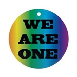 WE ARE ONE XXV™: Ornament (Round)