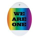 WE ARE ONE XXV™: Ornament (Oval)