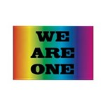 WE ARE ONE XXV™: Rectangle Magnet (100 pack)